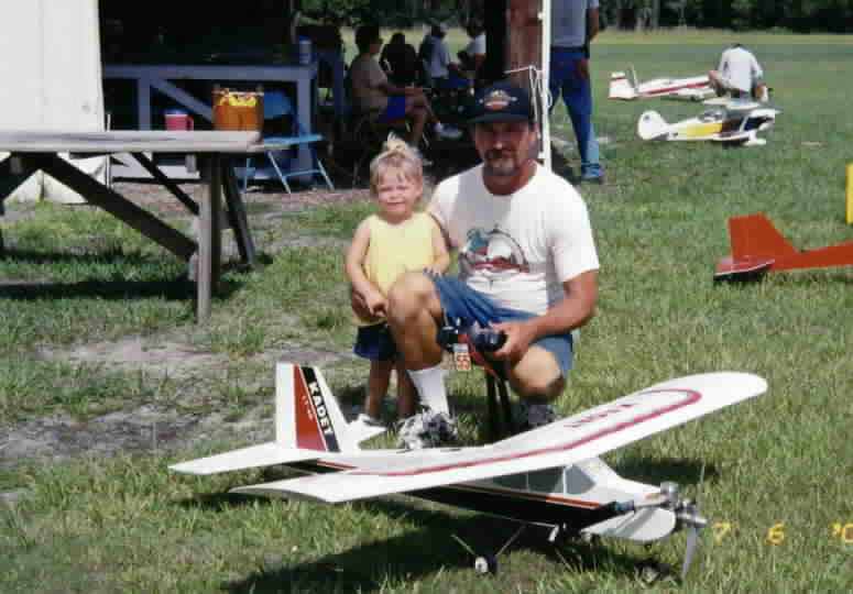 My First Plane, a Sig LT40 with MVVS Motor